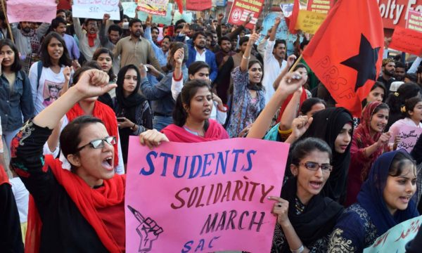 Student Solidarity March – A Mere Recreation
