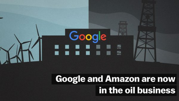 Something About Google And Other Tech Giants Barging In Oil Business